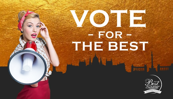 Vote For The Best Of Budapest & Win A Dinner For Two