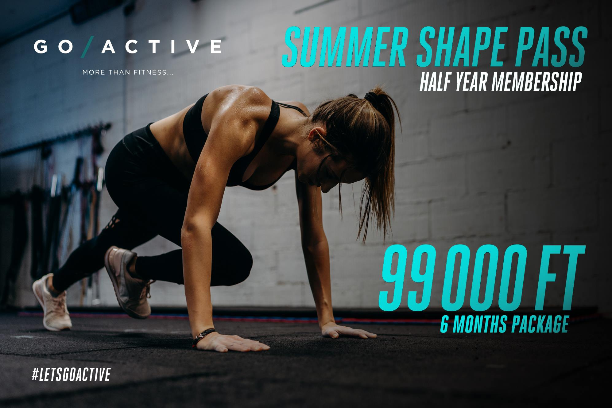 Get In Shape For The Summer At Go Active Budapest