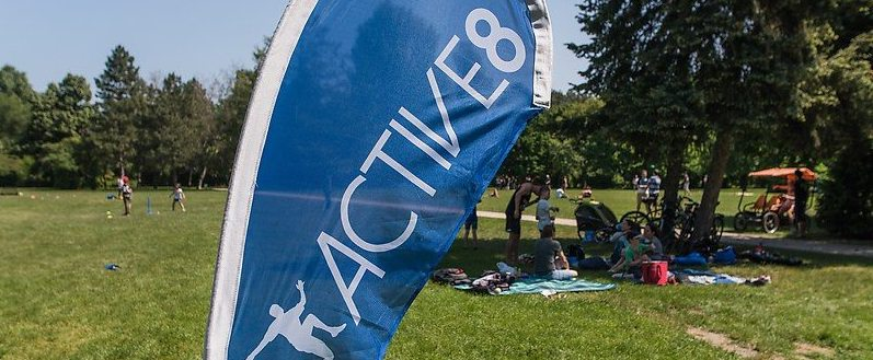 Active8's Sunday Picnic, Margaret Island Budapest, 2 June