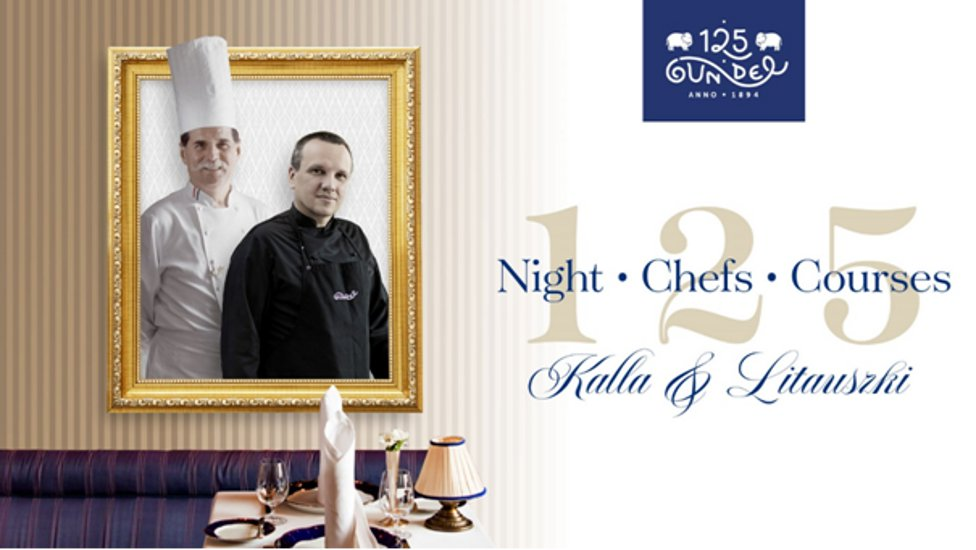 125 Year Old Gundel Restaurant In Budapest Introduces: 1 Night, 2 Chefs, 5 Courses