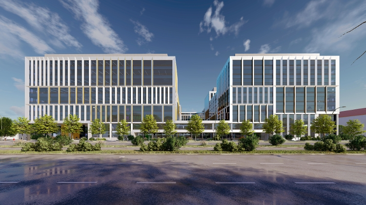 Construction & Leasing Of Aréna Business Campus In Budapest Is In Full Swing