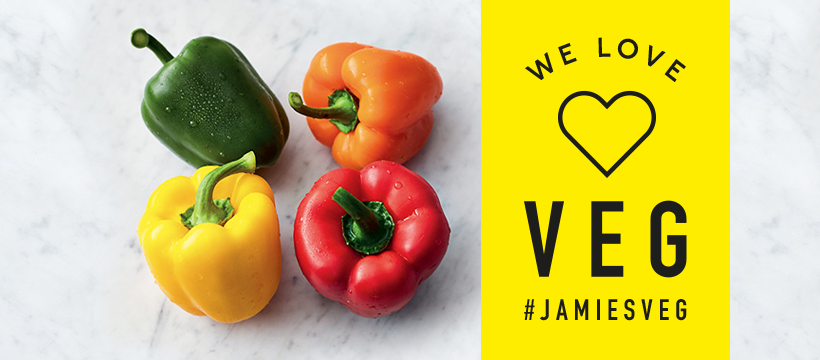 8-Week Veggie Surprise At Jamie's Restaurants In Budapest