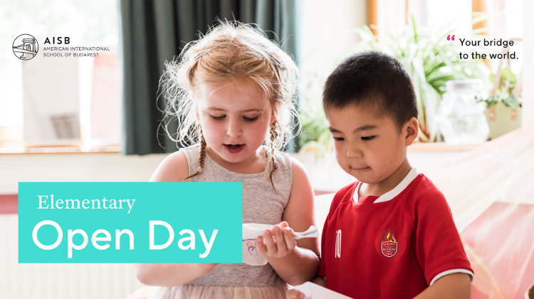 Elementary Open Day @ American International School Of Budapest, 21 November