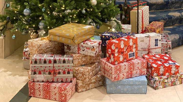 The Ritz-Carlton, Budapest Hotel Participates In The Shoe Box Charity Gift Program
