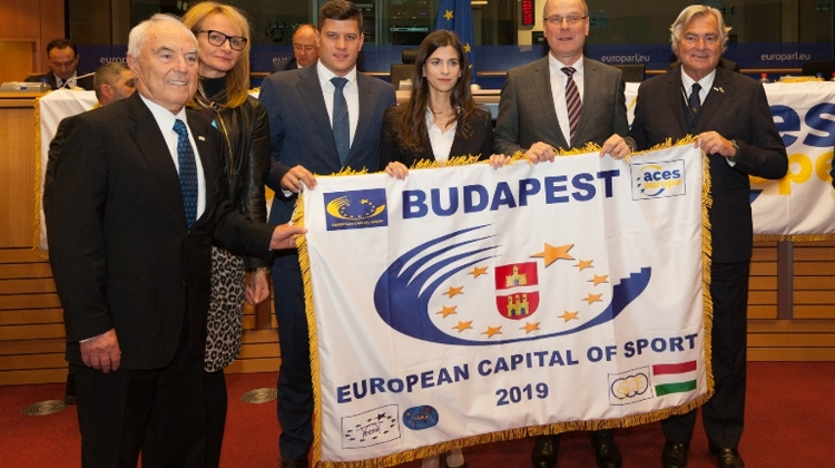 Budapest European Capital Of Sport In 2019 @ Travel Fair, 21 – 24 February