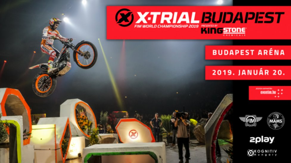 X-Trial World Championship, Budapest Aréna, 20 January