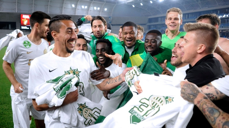 Ferencváros Win 30th Hungarian Football League Title
