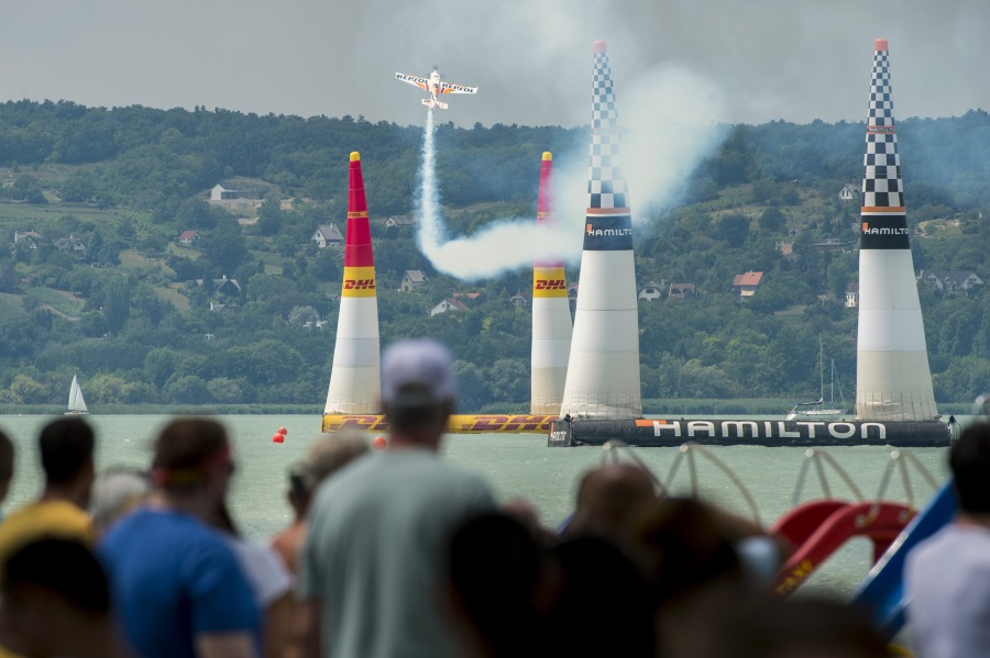 Video: Hall Blazes His Way To Glory At Red Bull Air Race Over Balaton In Hungary