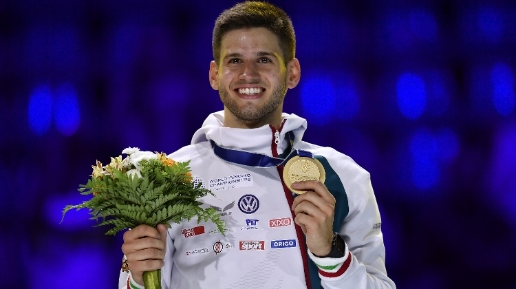 21 Year Old Hungarian Triumphs At The World Fencing Championships