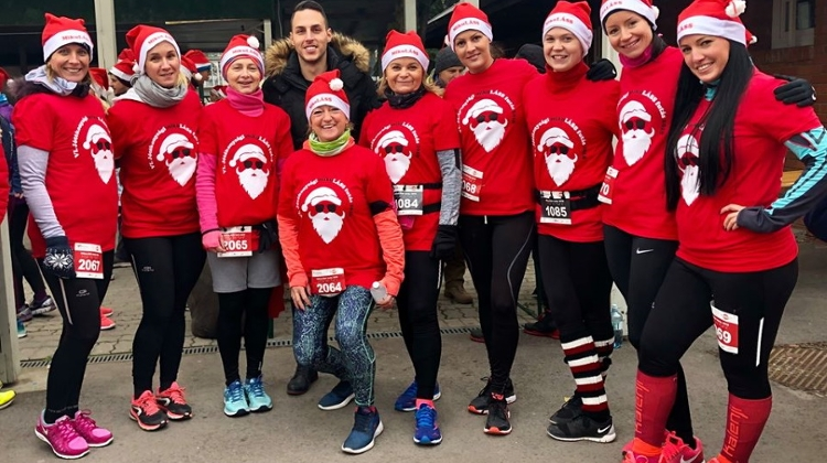 'Santa Claus Charity Run' In Margaret Island, 8 December