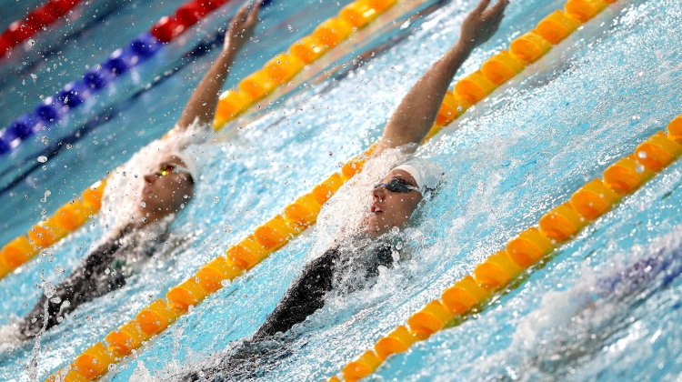 Hungary Fourth In European Swimming