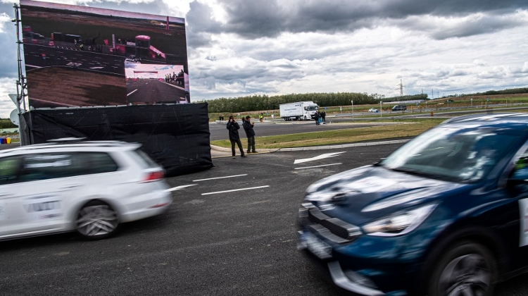 Self-Driving Vehicle Test Track Inugurated In Hungary