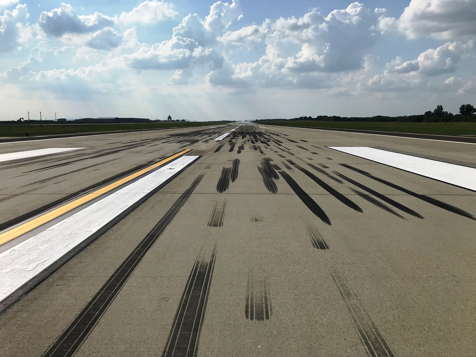 Budapest Airport Ran Out Of Runway On Wednesday