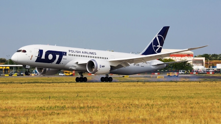 LOT Airlines To Launch Five New Flights From Budapest