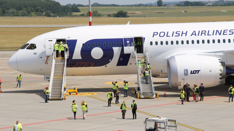 Budapest To Become Polish Airlines LOT's 2nd Major Base
