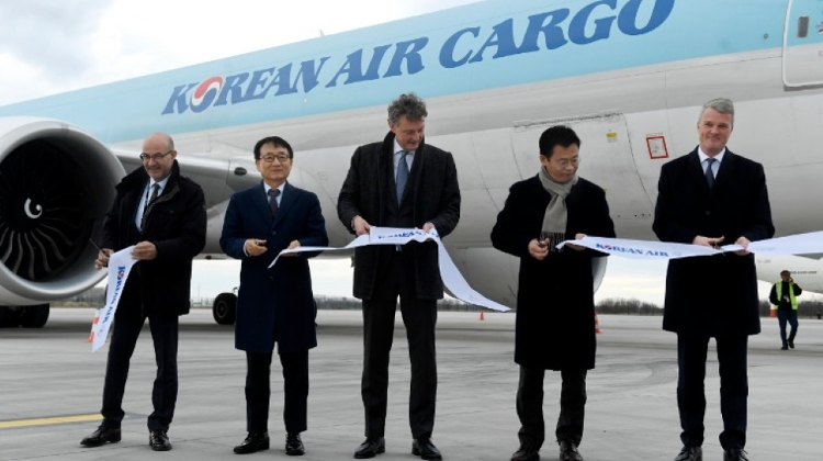 Korean Air Launches Budapest-Seoul Cargo Flight
