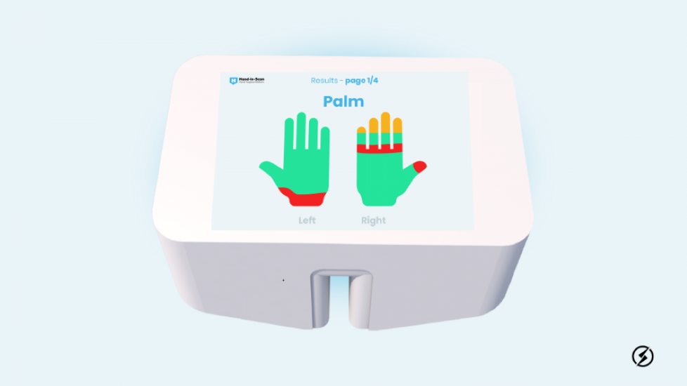 Hungarian Hand Washing Scanner Wins Again