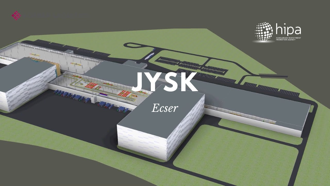 Video: JYSK Builds Regional Distribution Centre Near Budapest