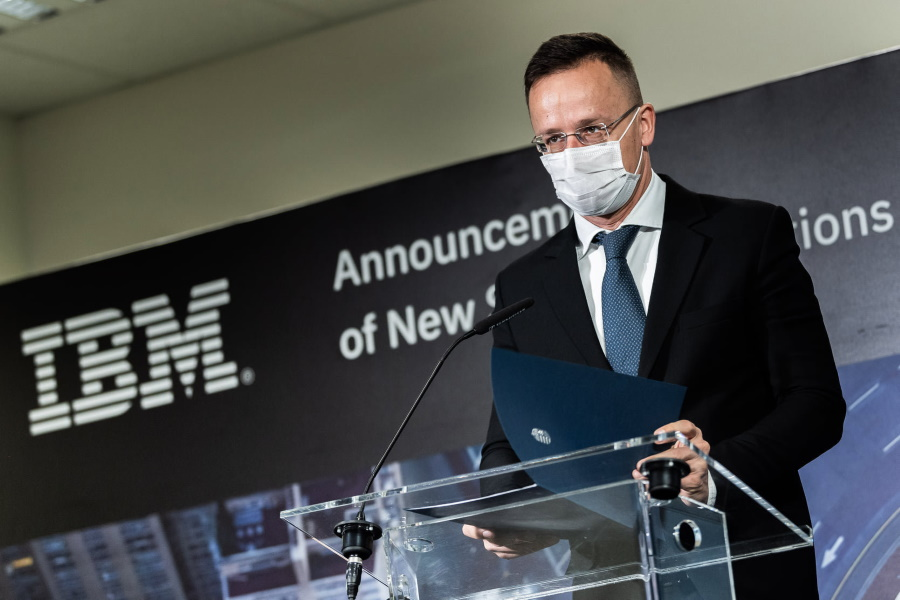 Video: IBM To Invest HUF 3.5 Billion In IT Centre Development In Cenral Hungary