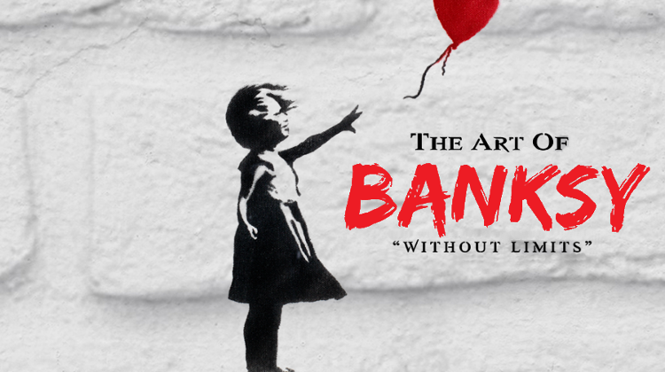 'The Art Of Banksy' Unofficial Exhibition, Tesla Loft Budapest