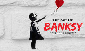 'The Art Of Banksy' Unofficial Exhibition Reopened @ Tesla Loft Budapest