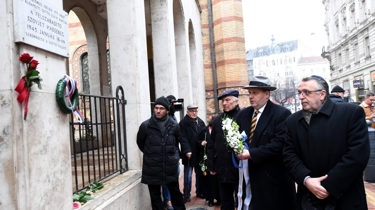 75th Anniversary Of Budapest Ghetto Liberation Commemorated