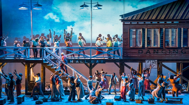 Video: MET Opera Broadcast @ Uránia: Gershwins' Porgy & Bess, 1 February