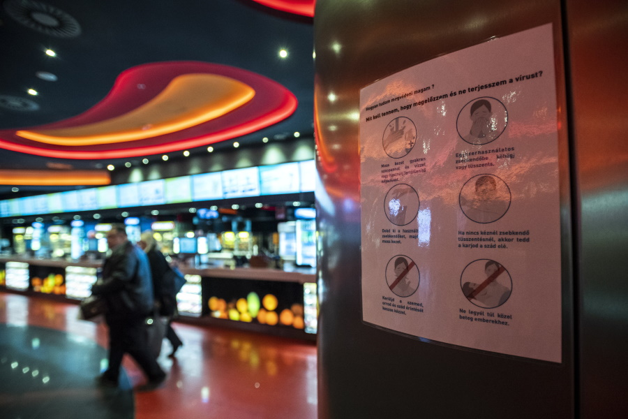 Coronavirus: Theatres, Museums, Libraries & Some Cinemas To Be Closed In Budapest