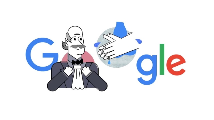 Video: Google Celebrates 'Father Of Infection Control', Hungarian Doctor Semmelweis