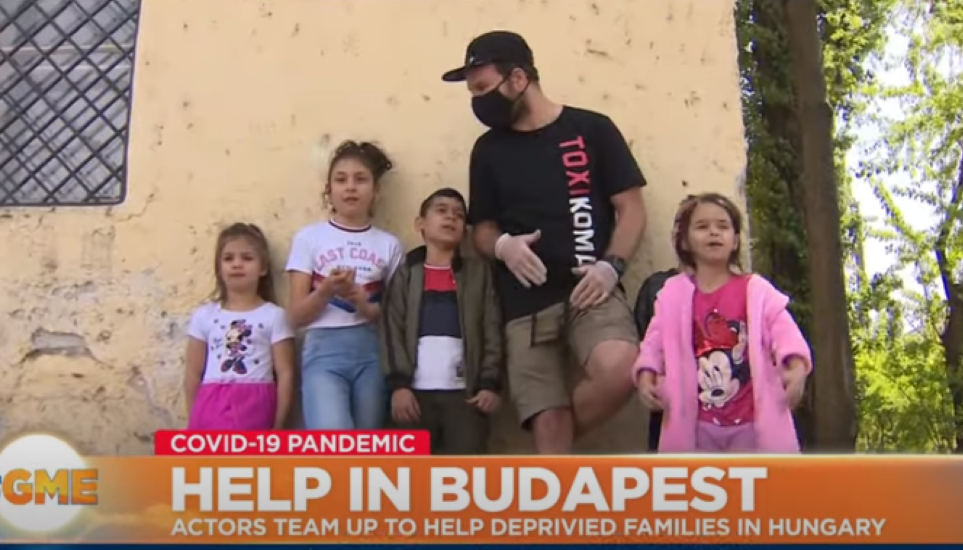 Video: Actors Team Up To Help Deprived Families In Hungary During Lockdown
