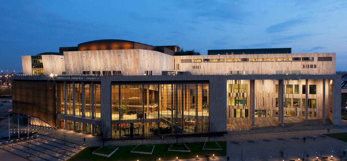 Budapest's Palace Of Arts Reopens Its Doors