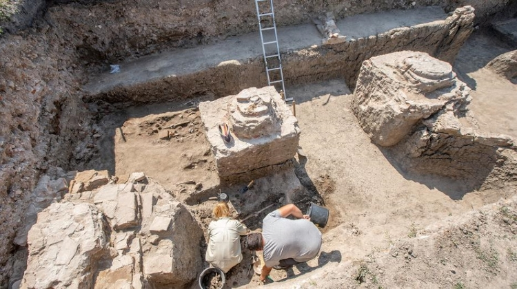 Preparations Start For Archaeological Excavation Of Buda Synagogue