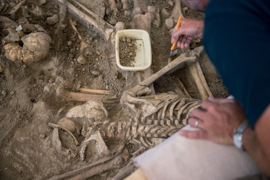 200+ Skeletons Discovered In Buda
