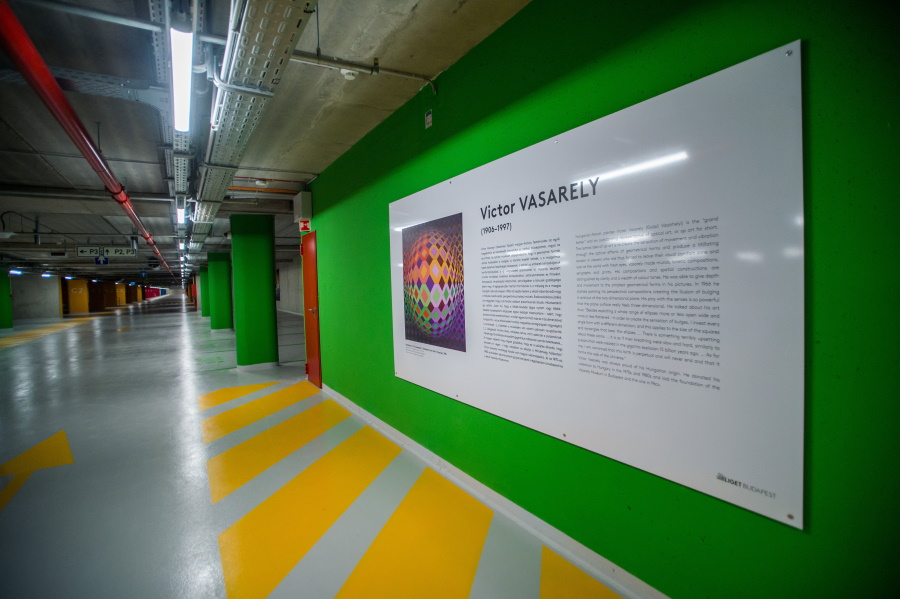 Photos: Liget Budapest - Museum Of Fine Arts' Underground Car Park Inaugurated