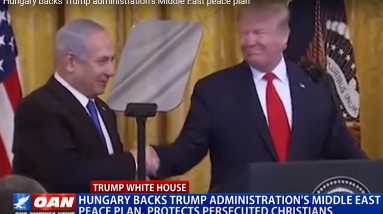 Video: Hungary Backs Trump Administration's Middle East Peace Plan