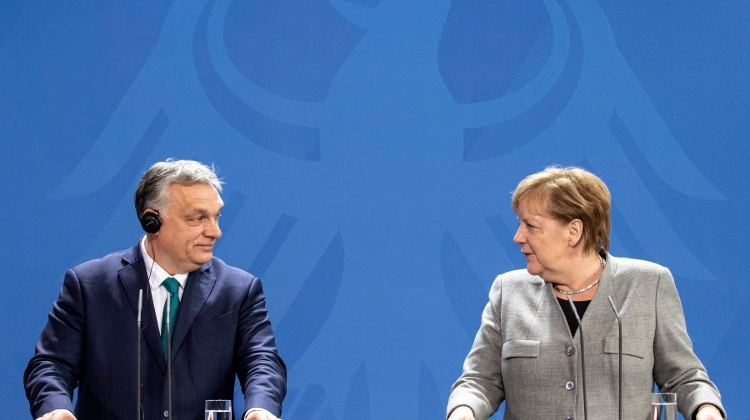 Merkel Meets Hungarian PM Orbán In Berlin