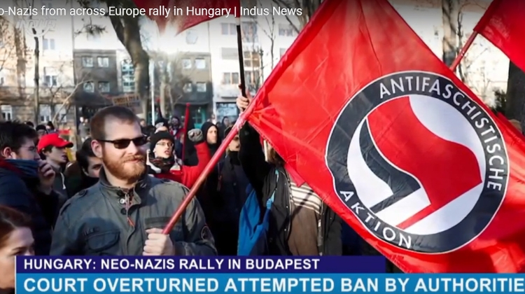 Video: Neo-Nazis From Across Europe Hold Rally In Budapest, Hungary