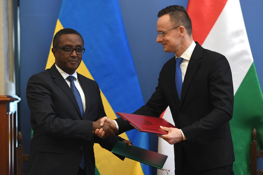 Hungary & Rwanda Sign Strategic Development Agreement