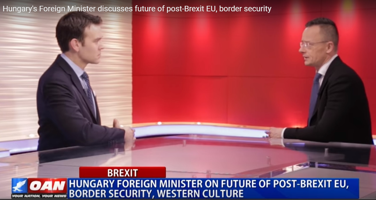 Video: Hungary's Foreign Minister On Future Of Post-Brexit EU
