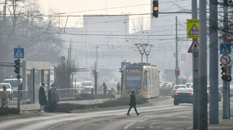 Hungarian Cities Hit By Poor Air Quality