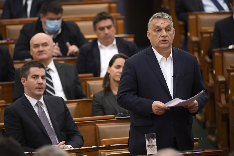 Coronavirus: PM Orbán - Government To 'Handle Crisis' Even If Opposition Votes Against Epidemic Bill