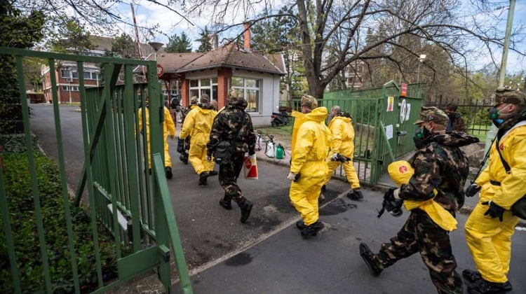 Hungarian Army Starts Disinfecting Hundreds Of Elderly Care Homes