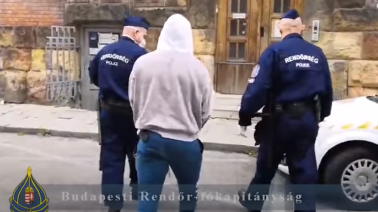 Video: Nigerian Rapist Arrested In Budapest
