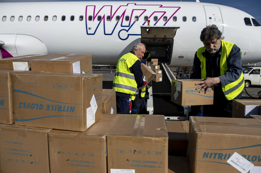 Delivery Of Protection Supplies Steady To Hungary From Chinese Cities
