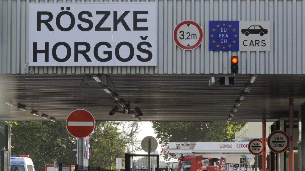 New Rules For Entry Of Guest Workers Heading For Western Europe Through Hungary