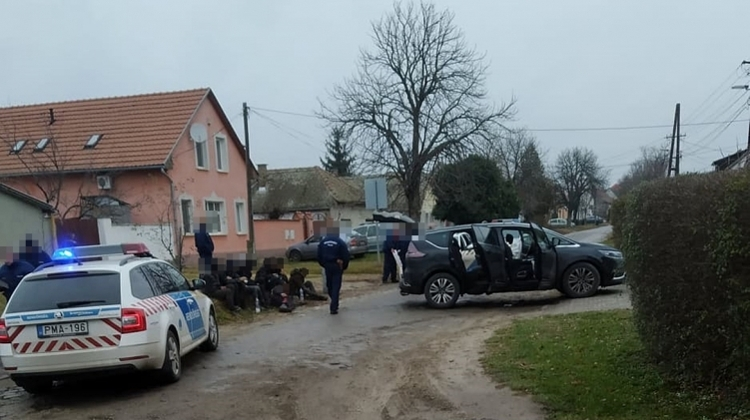 Hungarian Police Detain Syrian People Smuggling Suspects