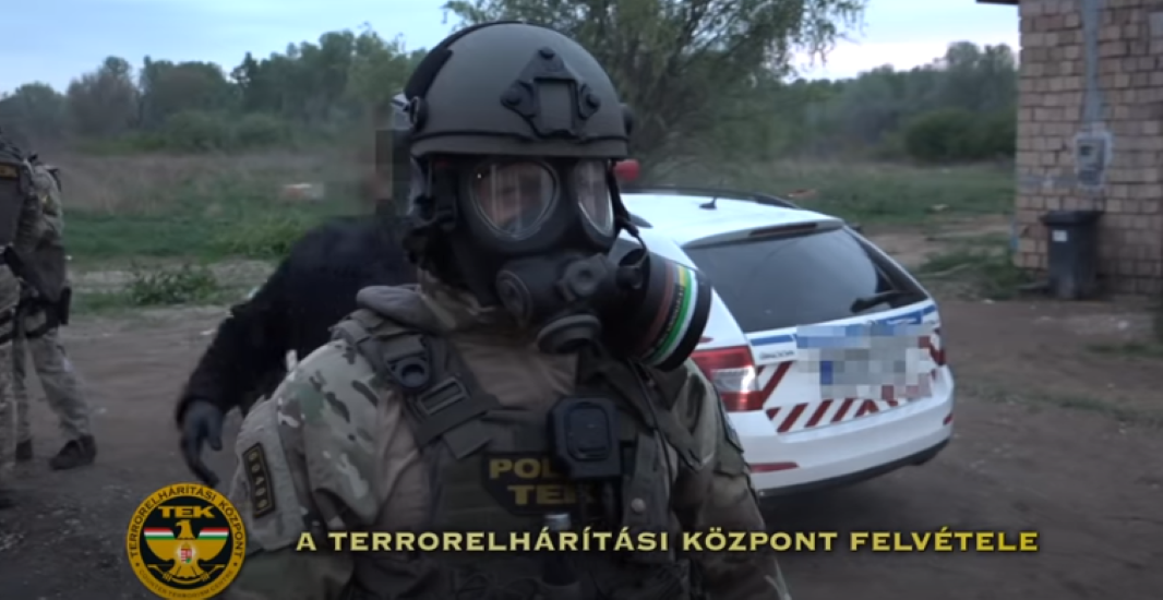 Video: Hundreds Of Police In Major Drug Raid In Hungary