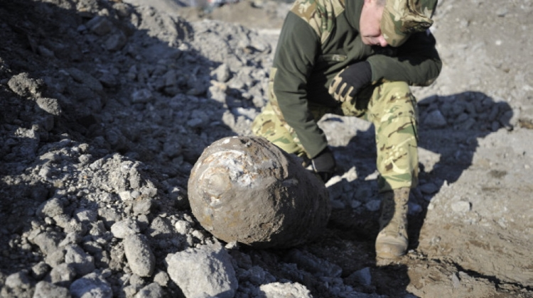 250kg WW2 Bomb Found In Western Hungary