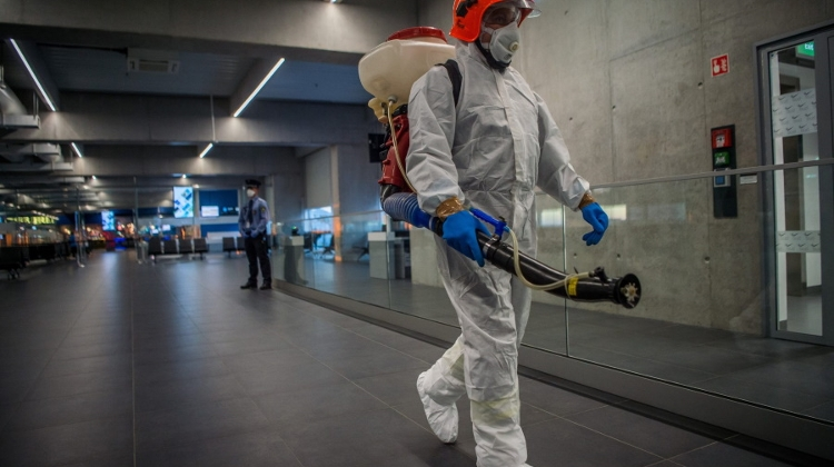 Newer Anti-Epidemic Measures At Budapest Airport