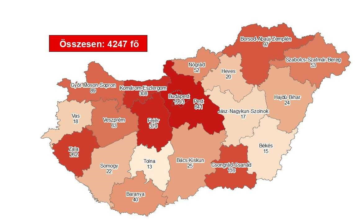 Coronavirus: Active Cases Stand At 579 With No New Deaths In Hungary